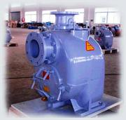 Non-Clog Self-Priming Solids Handling Pumps