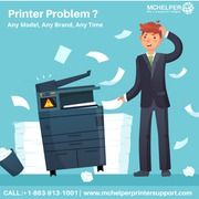 printer support phone number